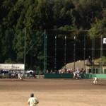 歴史的な練習試合(遊学館ー星稜)と一年生大会予選