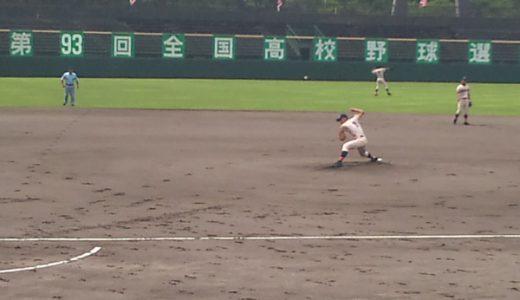 第93回全国高校野球選手権石川大会 準決勝