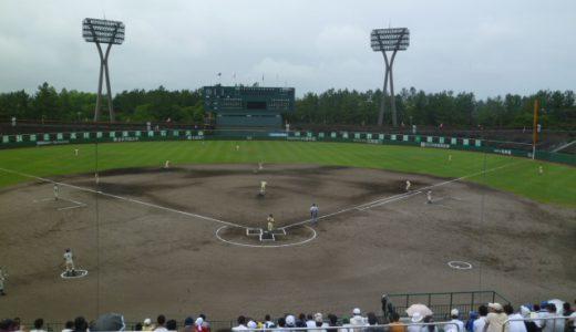 2016年度 高校野球石川県大会の開催日程