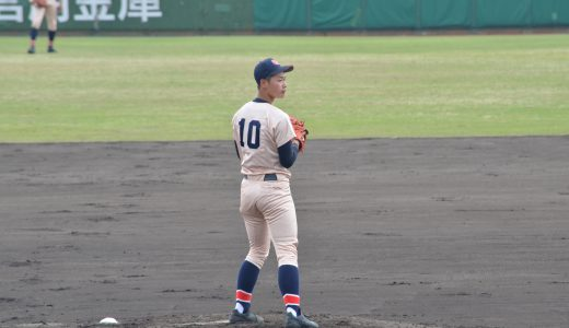 第134回 北信越高校野球石川大会(春) 準々決勝 vs小松明峰