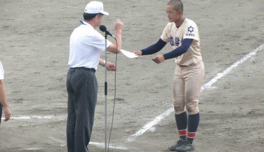 第98回全国高校野球選手権石川大会 準決勝 vs航空石川