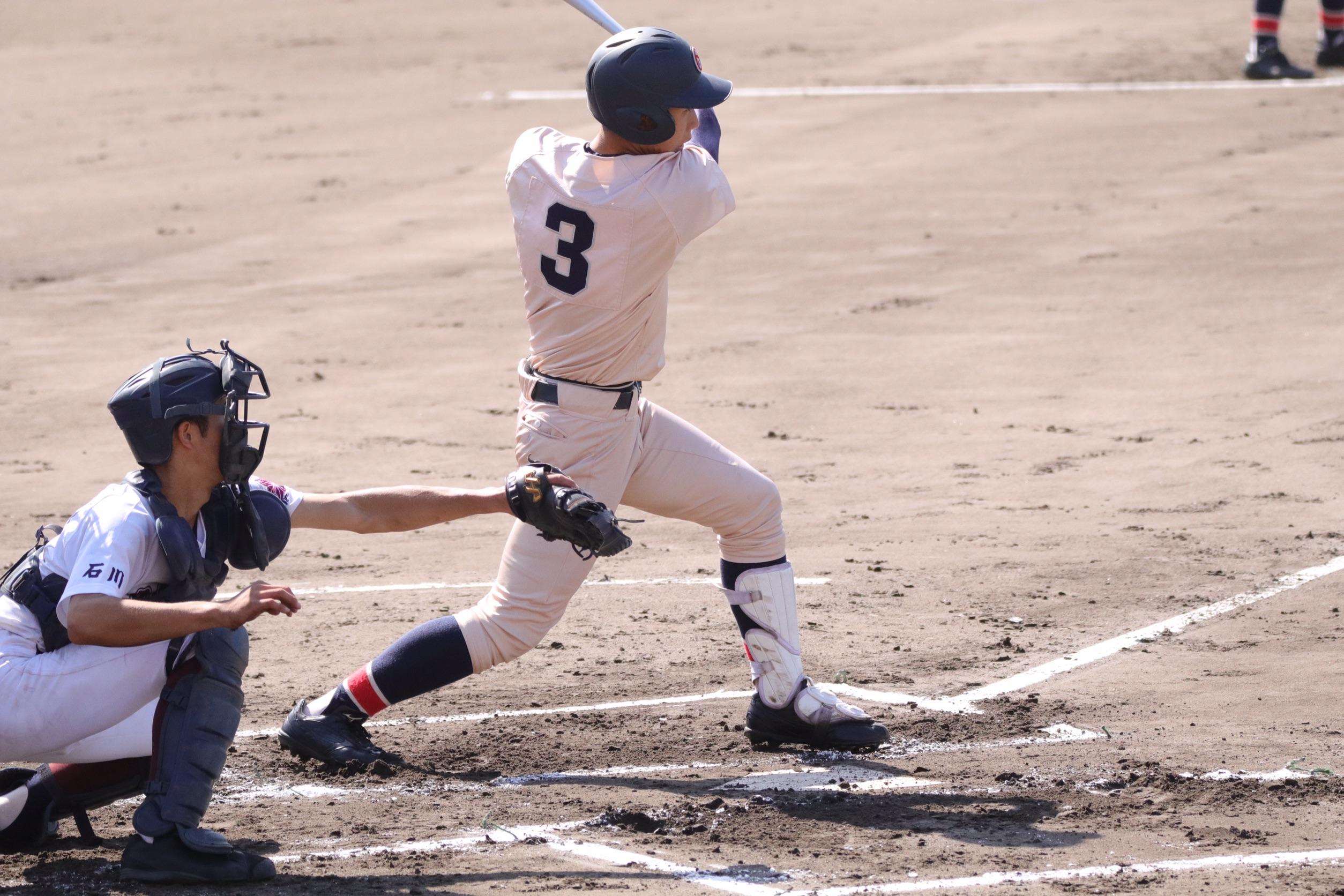 第137回 北信越高校野球石川大会(秋) 2回戦 vs鹿西